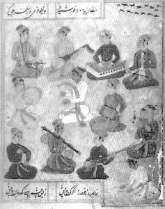 Music in Mogol court, 17o s.