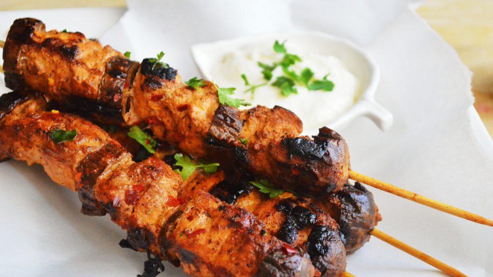 Cucina libanese shish taouk spiedini di pollo in for Cucina libanese