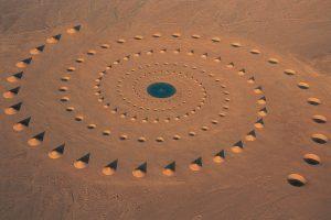Desert Breath: un'installazione mozzafiato