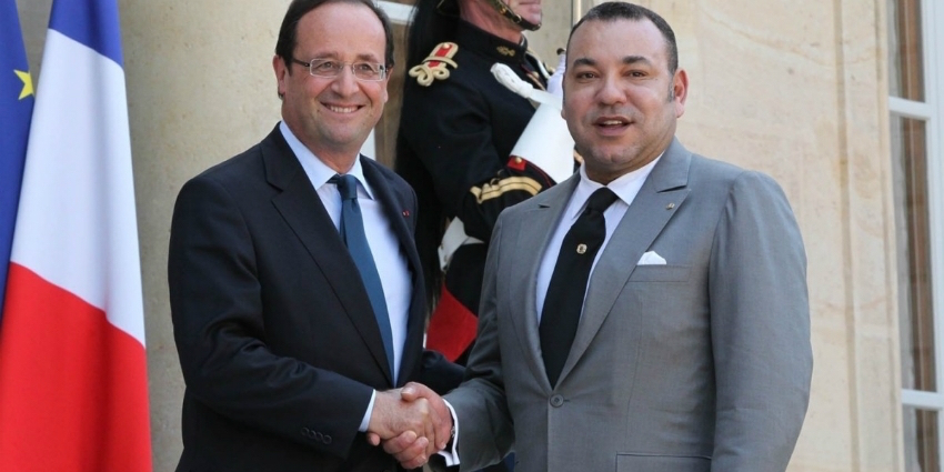 hollande e mohammed VI