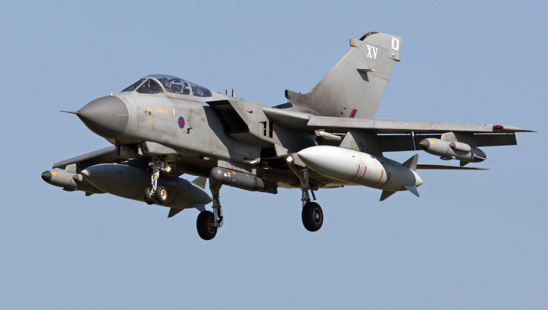 raid aerei UK siria