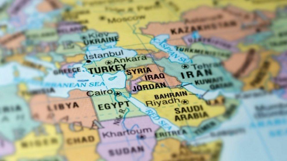 turchia siria iraq giordania egitto libano