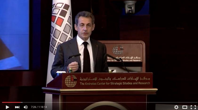 Sarkozy ad Abu Dhabi