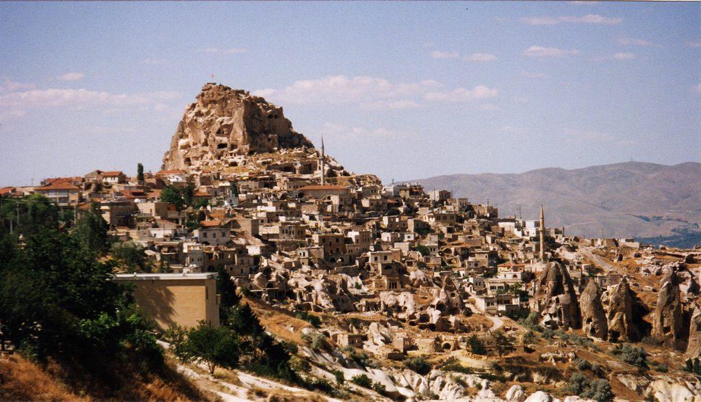 Valle de los Palomares Derinkuyu