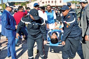 greve-enseignants-maroc-blesses