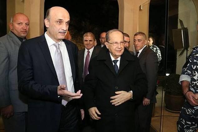 Aoun e Geagea, presidenziali libano