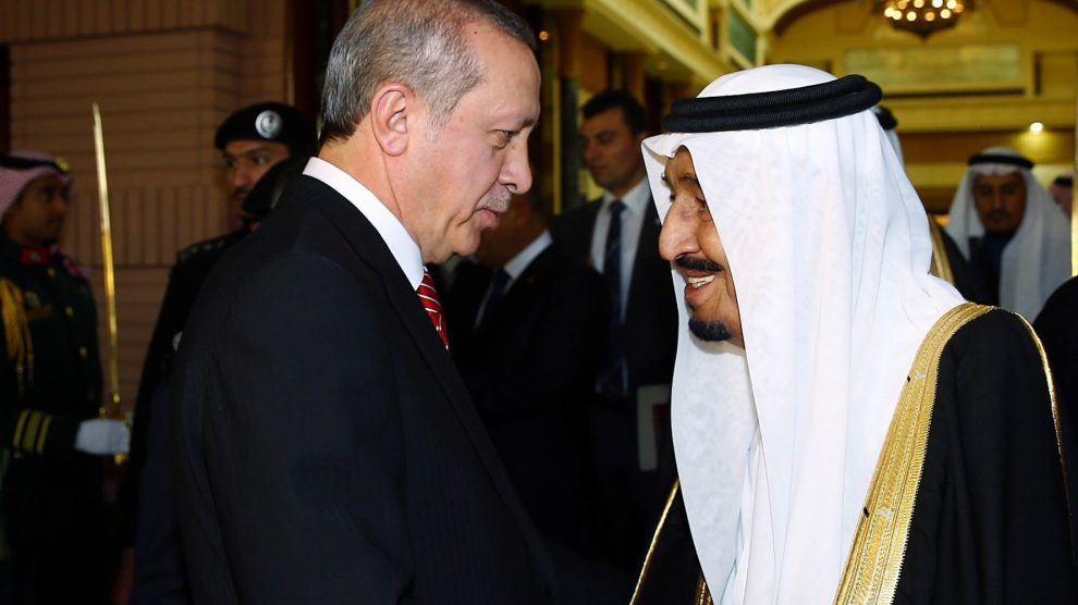 Turchia Erdogan Arabia Saudita re Salman