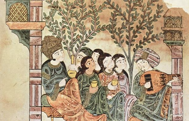 poesia araba vino