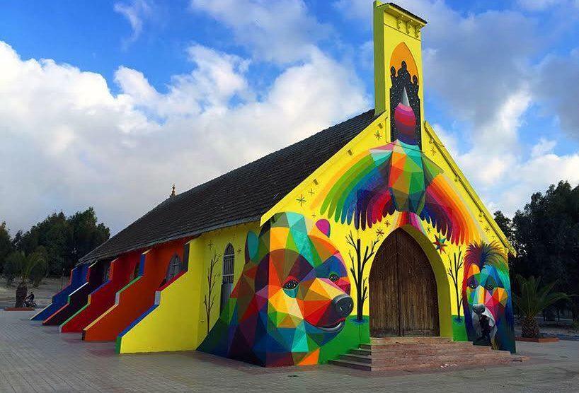 chiesa marocco street art