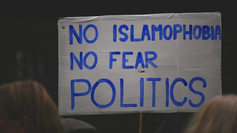 no islamofobia
