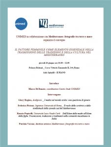 Convegno: le donne e la trasmissione della cultura nel Mediterraneo