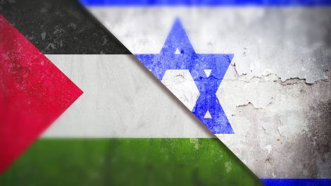 bandiera israeliana palestinese israele palestina