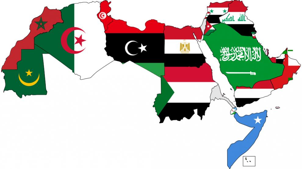 mondo arabo paesi arabi bandiere
