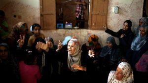 famiglia palestinese