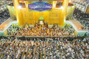 Eid al-Ghadir, tomba imam Ali, Najaf, Iraq