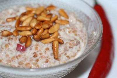 cucina libanese yogurt labaniyet burghul