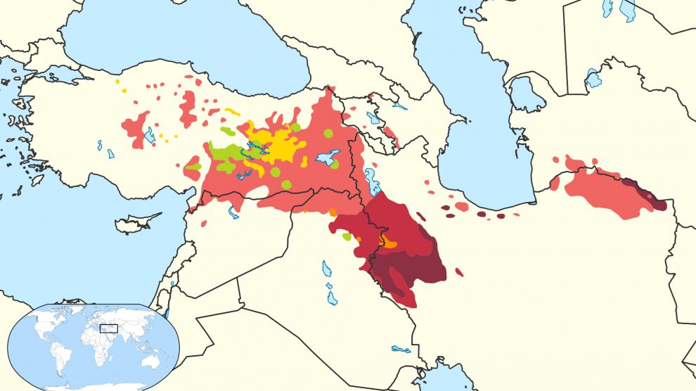 territorio curdo
