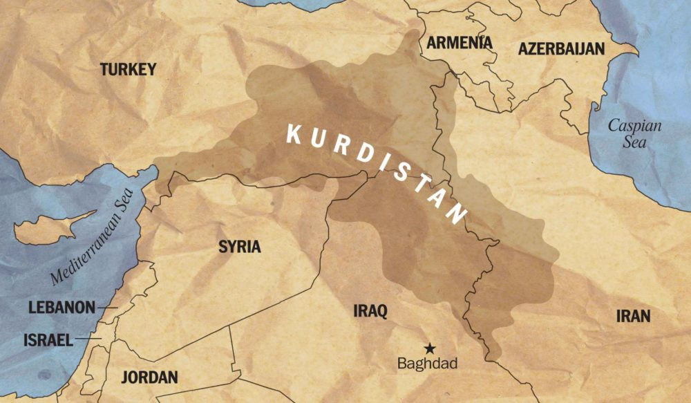 Cartina Kurdistan.Referendum In Kurdistan Arabpress
