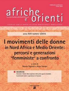 """""""I movimenti delle donne in Nord Africa e Medio Oriente: percorsi e generazioni femministe a confronto"""""""