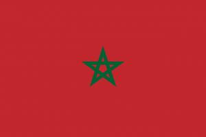 marocco bandiera marocchina