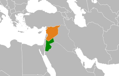 siria giordania