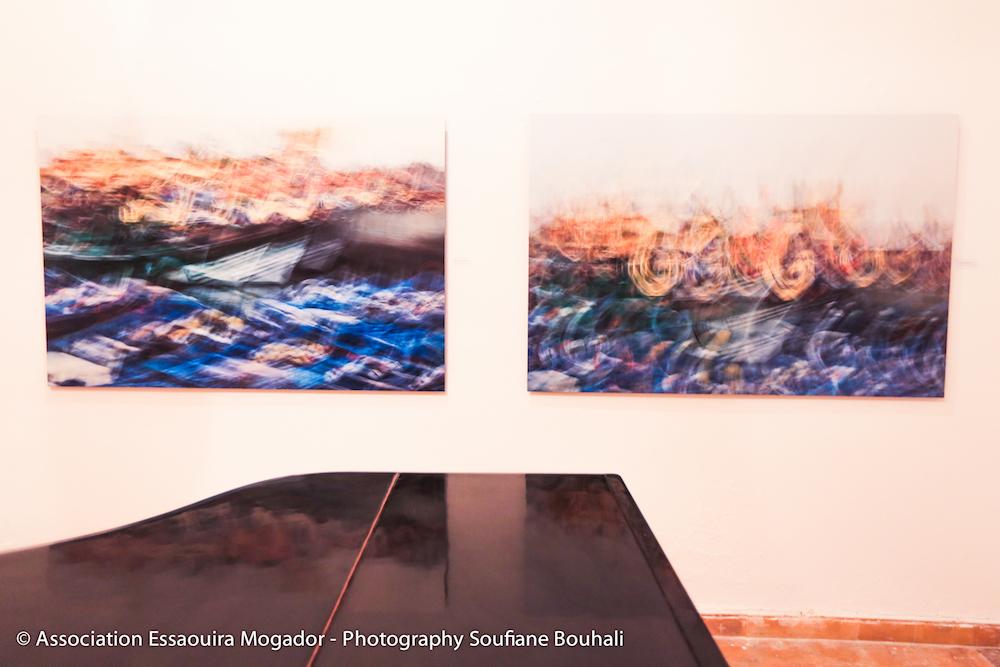 Immagini dalla mostra italiana Mogador in corso ad Essaouira